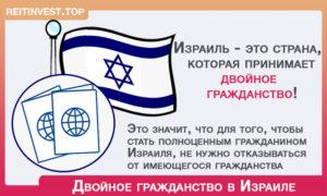 Минусы двойного гражданства израиля