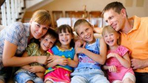 Многодетная семья чувашия сколько детей и какие законы