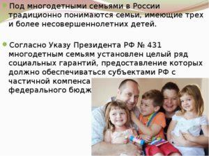 Многодетная семья это определение в красноярске