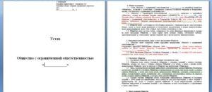 Образец Изменения В Устав Ооо 2020