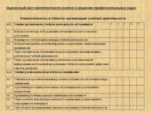 Оценочный Лист На Стимулирующие Педагога Допобразования Нижегородская Область