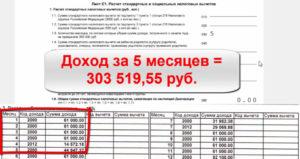 Налоговые вычеты на детей как посчитать