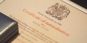 Гражданство великобритании закон