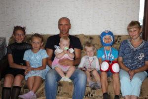 5 детей отец герой