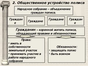 8 главное условие гражданства в полисе