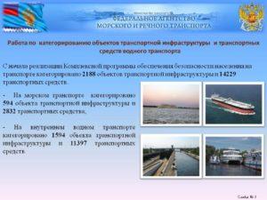 В какие сроки необходимо направить документы на водного транспортное средство в агентство морского и речного транспорта для для включения в реестр категорированных тс