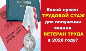 Как Получить Звание Ветеран Труда В2020году В Вологодской Области В 2020 Году
