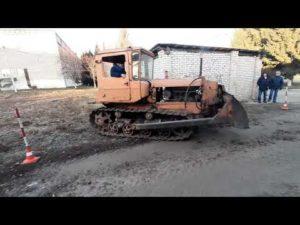 Вождение на тракторе категории д