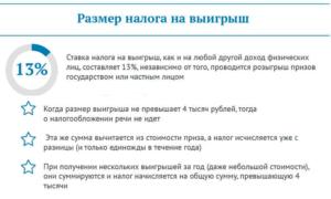 Ндфл сколько процентов от выигрыша в лотерею государству