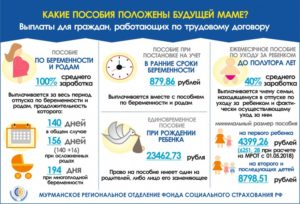 Какие Выплаты Положены Беременным В Московской Области 2020