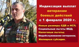 Льготы Ветеранам Боевых Действий В Московской Области В 2020