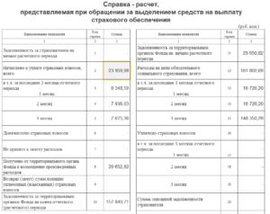 Порядок Заполнения Заявления Для Возмещения Расходов Фсс В 2020