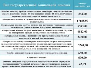 Помощь Малоимущим В Ростовской Области В 2020г