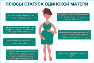 Какие Плюсы У Матери Одиночки 2020 Льглтв