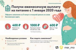 Компенсация За Молочную Кухню В 2020 Году Сколько