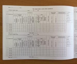Ведение оперативной документации в котельной