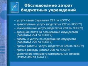 Подстатья 227 «Страхование» Косгу