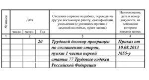 Соглашение сторон при ликвидации предприятия
