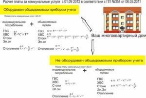 354 постановление формулы перерасчет одн